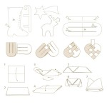 Vektor-Illustrationen, Schnittmuster und Bastelanleitungen zum Thema Weihnachten 2010 mit Ferrero