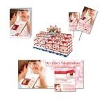 Gestaltung verschiedener Werbemittel für eine Jahresauftakt Promotion, Thema Valentinsbote