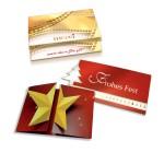 Design unterschiedlicher Gruß-/Promotion-Karten