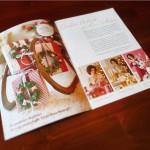 Gestaltung eines Design-Konzeptes für ein POS-Booklet zum Thema Weihnachten mit Ferrero