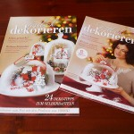 Gestaltung des Design-Konzeptes für Zeitschriften-Beilage und POS-Booklet zum Thema Weihnachten mit Ferrero 2011