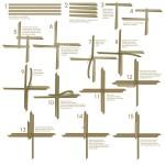 Bastelanleitung für einen Fröbelstern zum Thema Festlich dekorieren mit Ferrero 2012