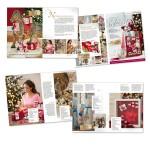 Entwicklung eines Design-Konzeptes für ein Ideen-Booklet von Ferrero zum Thema Weihnachten 2012
