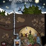 Weihnachtskarte für Kunden und Freunde 2012