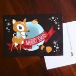Weihnachtskarte für Kunden und Freunde 2013