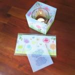 Gestaltung und Illustration eines sommerlichen Windlichtes für Teelichter bei Rossmann