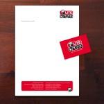 Design und RZ für Briefbogen und Visitenkarte