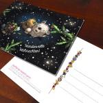 Weihnachtskarte für Kunden und Freunde 2014