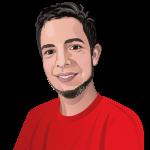 Profil Illustration der Mitarbeiter für den Einsatz externer Kommunikationsmittel (Website) der LITE Games GmbH