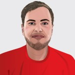 Mitarbeiter-Illustration für den Einsatz externer Kommunikationsmittel (Website) der LITE Games GmbH