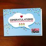 Design einer Glückwunsch-Klappkarte für die interne & externe Firmen-Kommunikation der LITE Games GmbH
